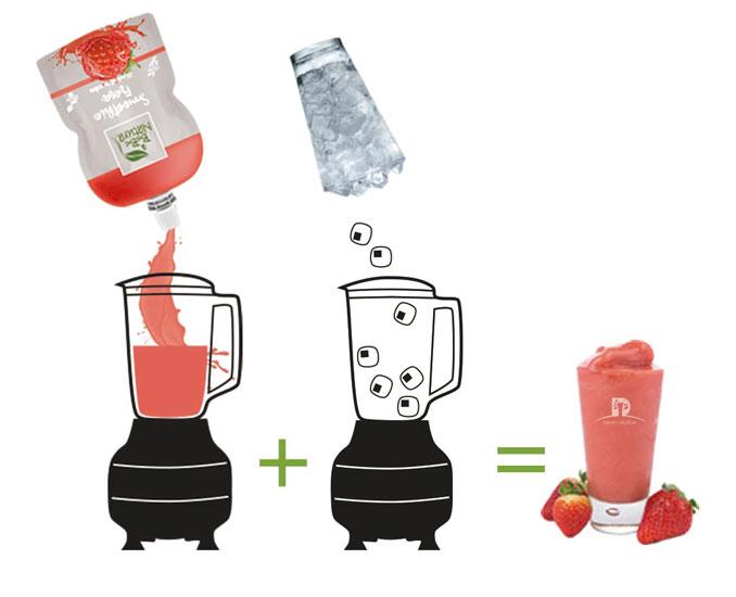 Descubre la gama de smoothies en formato monodosis